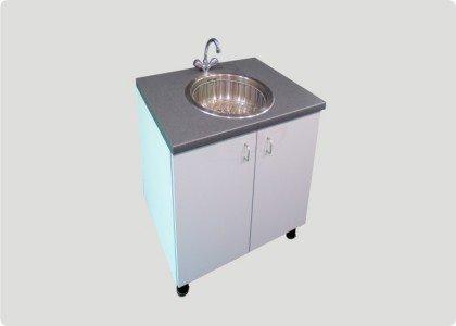 Spüle Küche Mit Unterschrank | Schneider Messebau Kuche Lager Spule Mit Unterschrank